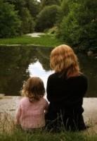 Mom and girl